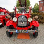 Oude brandweerauto Nico Asbroek